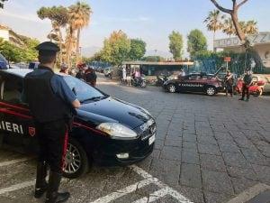 Carabinieri a Torre Annunziata. [Foto di repertorio]