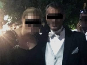 A destra l'ex primario Francesco Pignatelli