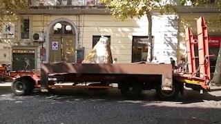 Napoli, la Fontana di Tatafiore torna in via Scarlatti al Vomero