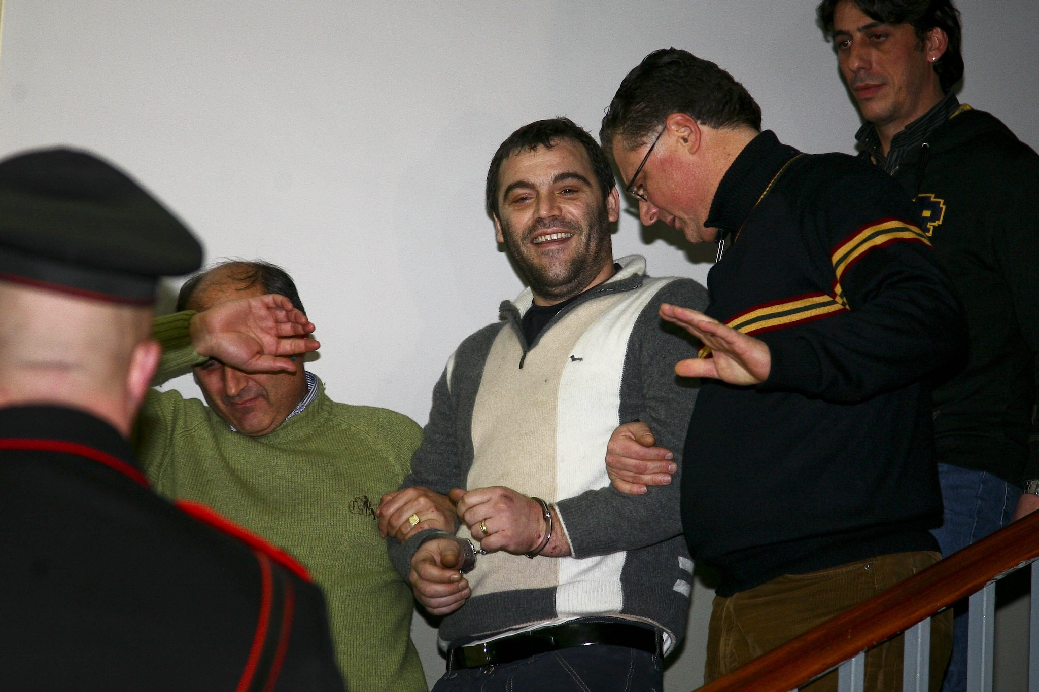 2009: l' arresto del superlatitante Giuseppe Setola