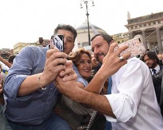 Matteo Salvini torna a Napoli: vertice in prefettura sulla sicurezza
