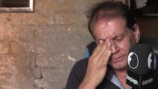 La storia di Sergio, l'ex marittimo che vive in un sottoscala abbandonato e discriminato