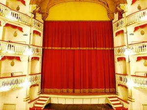 Il palco del teatro Sannazaro