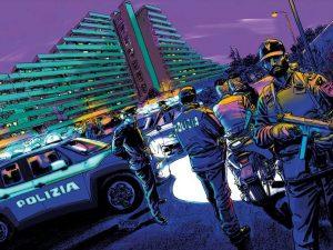 Il mese di gennaio del calendario 2019 della Polizia di Stato (Foto: Facebook/Questura di Napoli)