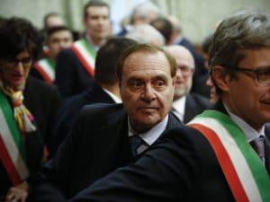 Clemente Mastella, sindaco di Benevento.