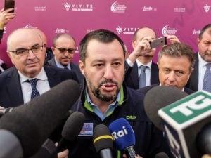Matteo Salvini, vice–premier e ministro degli interni.