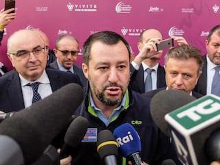 """Salvini a Napoli: """"Non posso fare in qualche mese quello che non si è fatto in decenni"""""""