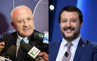 "Matteo Salvini a Napoli martedì 5 novembre: ""Adesso mandiamo a casa De Luca"""