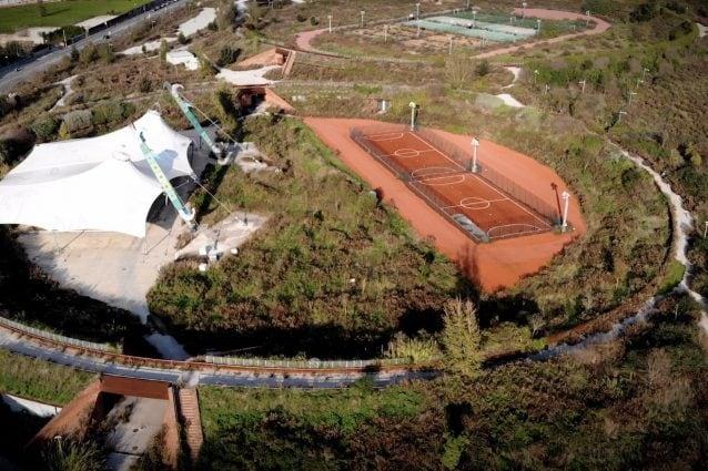 Il parco dello sport di Bagnoli / foto Fanpage.it Carmine Benincasa