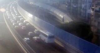 Traffico Napoli 29 dicembre: ingorghi e code in autostrada e in tangenziale