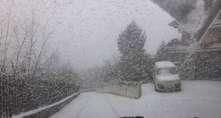 Meteo, torna la neve in Irpinia: temperature in picchiata anche a Napoli