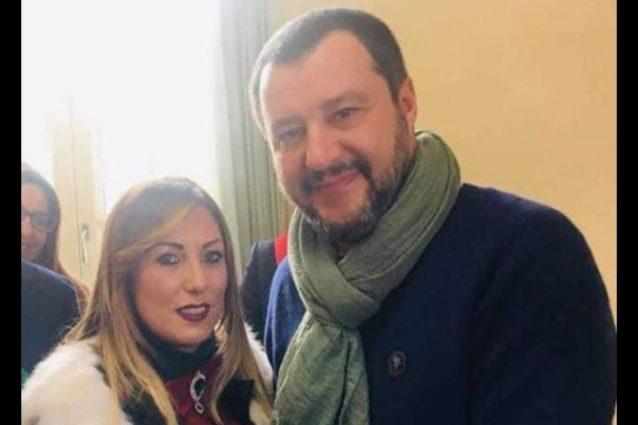 Cristina Acri e Matteo Salvini