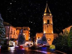 Neve a Benevento (foto F. Nardone – Facebook)