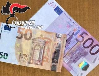 Grottaminarda, fermato un giovane mentre gira in strada con 550 euro in banconote false