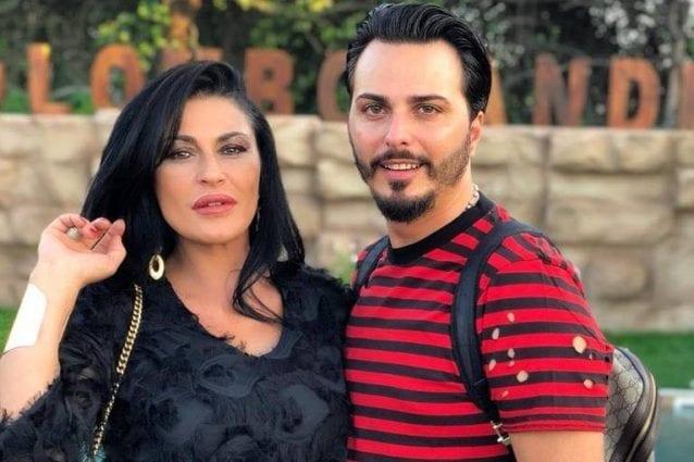 Tony Colombo e la futura moglie, Tina Rispoli (Facebook)