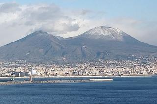 Meteo Napoli oggi: neve sul Vesuvio e crollo delle temperature la notte