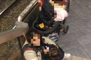 """""""A piazza Garibaldi tre bambini vivono al freddo da mesi dentro la stazione della Circum"""""""