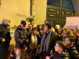 Il dolore dei familiari del piccolo Giuseppe [Foto / Fanpage.it]