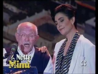"""Mia Martini, grande interprete di tante canzoni napoletane. Una su tutte: """"Cu 'mme"""""""