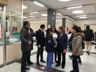 Doppia ispezione del ministro della Salute Grillo al Cardarelli e al Pellegrini