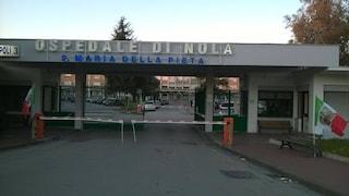 Incendio nel reparto Ginecologia dell'ospedale di Nola: evacuate 15 donne