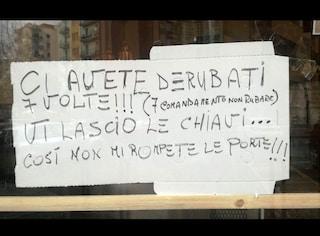 """Napoli, la provocazione del pizzaiolo svaligiato: """"Ladri, vi lascio le chiavi"""""""