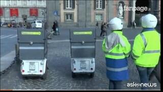 Poste Italiane, a Napoli i scooter elettrici a 3 ruote per i postini