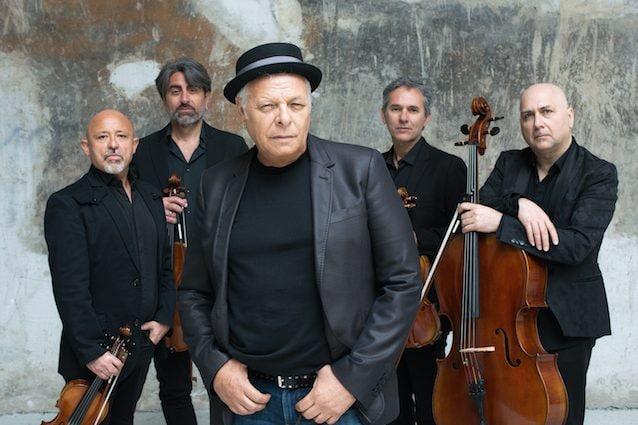 Enzo Gragnaniello e i Solis String Quartet (ph Riccardo Piccirillo)