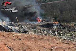Gesualdo (Avellino): esplode fabbrica di fuochi d'artificio, nello scoppio muore titolare