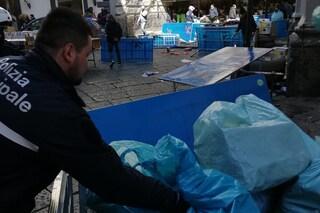Blitz tra gli eredi del mercato della Maddalena: sequestrati migliaia di prodotti falsi