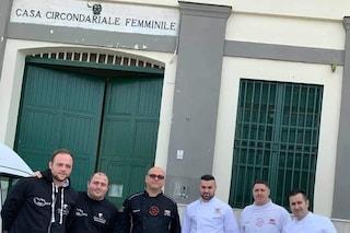 Festa della Donna, pizze in omaggio alle detenute del carcere femminile di Pozzuoli