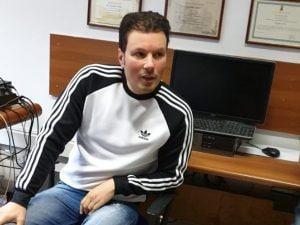 Marco di Lauro dopo l'arresto, in questura