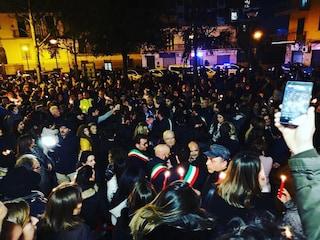 """San Giorgio a Cremano, una fiaccolata per dire no alla violenza sulle donne: """"Vogliamo sicurezza"""""""