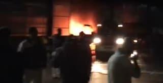 Incendio nello stabilimento FcA di Pomigliano, a fuoco i pezzi usati per le Fiat Panda