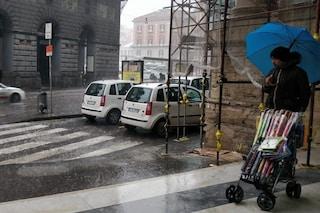 Protezione civile Campania, domani 12 maggio allerta meteo gialla: piogge e temporali