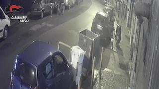 Vomero, arrestata banda di rapinatori di auto nei garage: le immagini dell'ultimo colpo