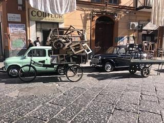 L'Amica Geniale 2: ciak si gira in piazza Carlo III. E Napoli torna ai fasti d'un tempo