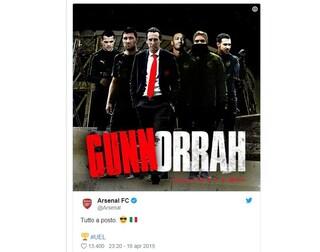 Non prendetevela con l'Arsenal: per gli inglesi Gomorra è solo una serie tv