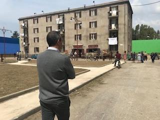 "Luigi De Magistris sul set de L'Amica Geniale 2: ""Grande emozione"""
