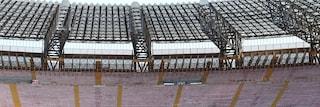 San Paolo, il Comune vende i sediolini dello stadio a 10 euro. Al via il bando