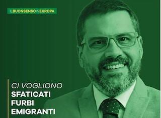 Europee 2019, il rettore Unisa Tommasetti candidato con la Lega fa record d'insulti sui social