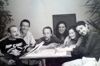 "Salemme, Casagrande, Buccirosso e Paone: la foto scatena i fan: ""Fate un nuovo film insieme"""