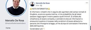 Il sindaco di Casapesenna considera i rom delinquenti. È del Pd e parla come l'estrema destra