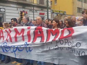 Manifestazione Disarmiamo Napoli – foto Facebook