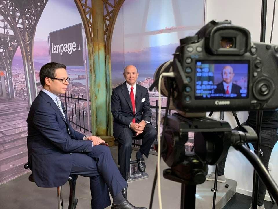 L'ambasciatore Eisenberg in visita a Fanpage.it