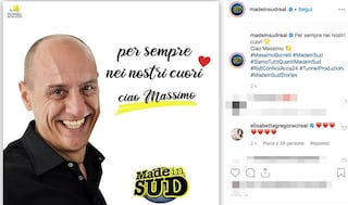 """Made in Sud ricorda Massimo Borrelli a 3 anni dalla morte: """"Per sempre nei nostri cuori"""""""