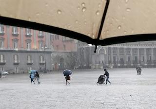 Allerta meteo Napoli mercoledì 16 ottobre: temporali e raffiche di vento