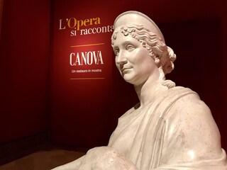 Al Museo di Capodimonte l'opera di Antonio Canova: un restauro al centro della mostra