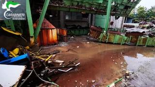 Rifiuti tossici abbandonati, sequestrata una fabbrica di Torrecuso (Benevento)
