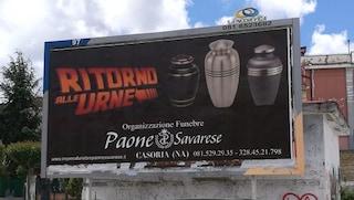 """Elezioni Comunali Casoria: """"Ritorno alle urne"""". L'ironia delle pompe funebri"""